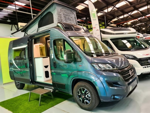 Camper McLouis Menfys Van 5 S-Line - Gris Metalizado -