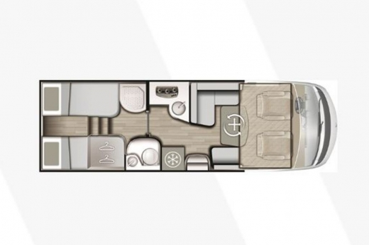 Autocaravana Mobilvetta K-Silver i56 2019