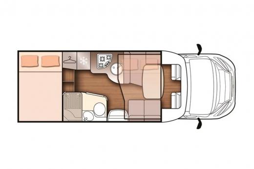 Autocaravana McLouis MC4-360G