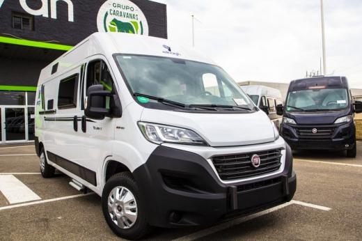 Autocaravana Elnagh E-Van 5 - Blanca
