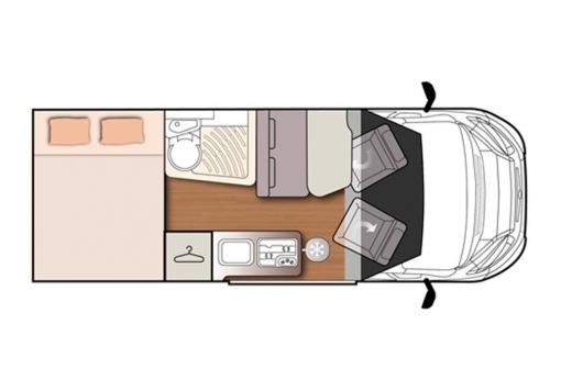 Autocaravana McLouis Menfys Van 3 Maxi Prestige 2020