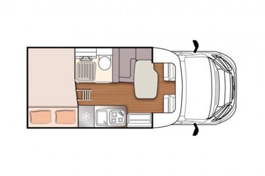 Autocaravana McLouis Mc4-231