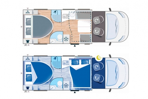 Autocaravana Challenger 268 Graphite Vip