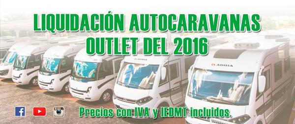 Liquidación autocaravanas Outlet 2016
