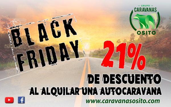 Black Friday 2016 en Caravanas Osito