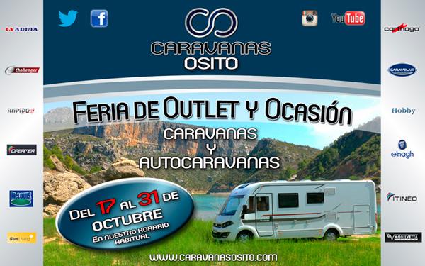 Feria Outlet y de Ocasión de Caravanas y Autocaravanas