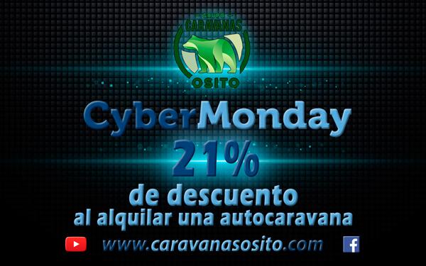 cyber monday 2016 en Caravanas Osito