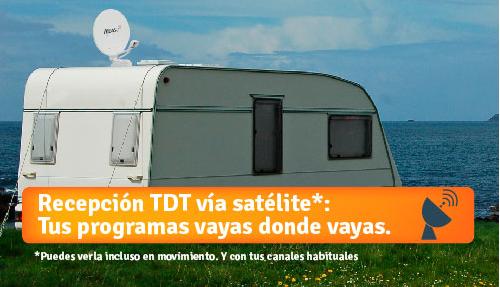 Disfruta de tus programas de TV favoritos en tu caravana