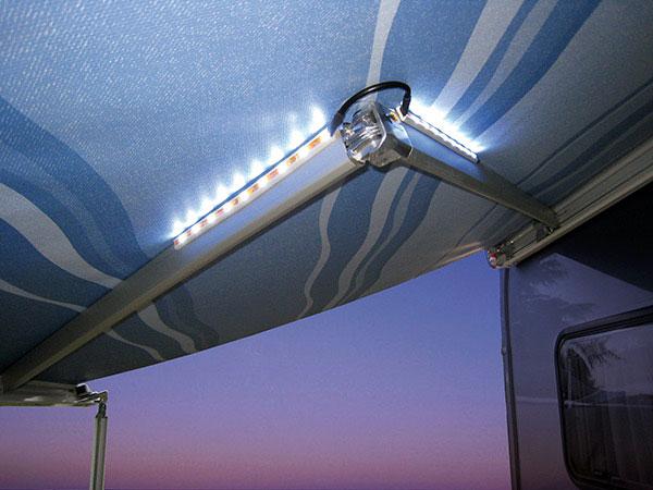 La Iluminación LED en la autocaravana y caravana