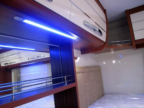 CaravanaUna La Y Iluminación Solución Led En Autocaravana 80kwOnP