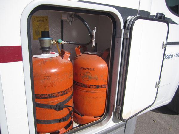 Cuidados básicos del sistema de gas de la autocaravana