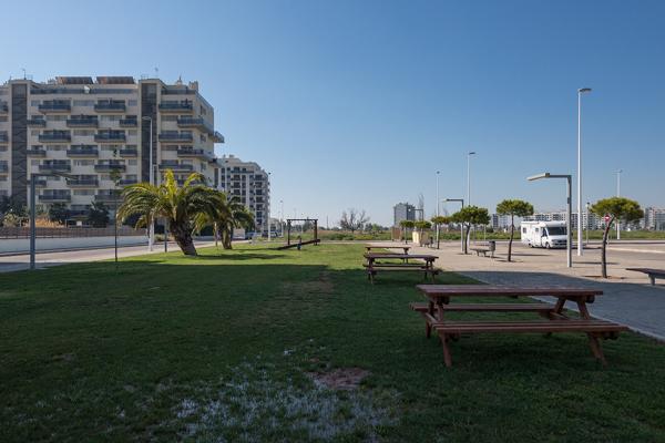 Nuevo parking para autocaravanas en Moncofa