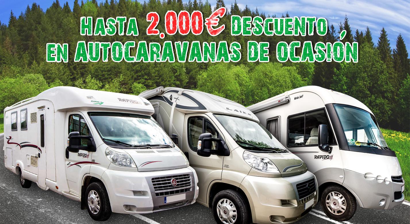 OFERTAS AUTOCARAVANAS DE OCASION