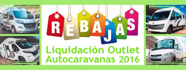Rebajas Autocaravanas 2016