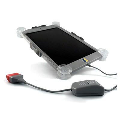 Panel solar con controlador de carga